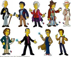 Doctor Who, The Simpsons