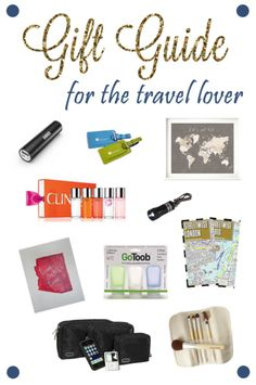 Gift Guide for the Travel Lover - featuring one of my maps ( https://www.etsy.com/listing/185670323 ) - Mandy Living Life