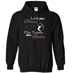 Play Tennis like a badass - 1015 - #tshirt pillow #hipster sweater. BUY TODAY AND SAVE => https://www.sunfrog.com/LifeStyle/Play-Tennis-like-a-badass--1015-3509-Black-Hoodie.html?68278