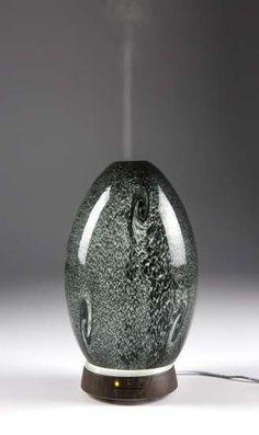 Obsidian (Black) Glass Essential Oil Diffuser