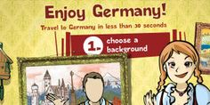 Garden gnomes, beer, castles and pretzels - create your own German cliche! Just upload your picture and have fun :)