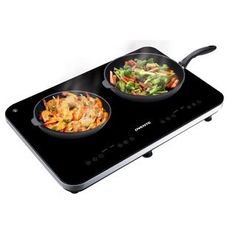 ***Ovente BG62B Portable Ceramic Double Induction Cooktop, Black | Overstock.com Shopping - The Best Deals on Cooktops & Burners