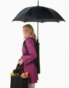 Un bras de libre en plus sous la pluie