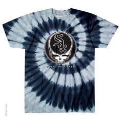 23f31848594 Grateful Dead - Chicago White Sox Steal Your Base Tie Dye T Shirt  WhiteSox  Mlb