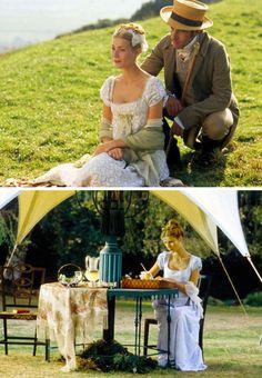 Emma (1996) - Jane Austen adaptation - starring Gwyneth Paltrow as Emma Woodhouse + Jeremy Northam as Mr. Knightley