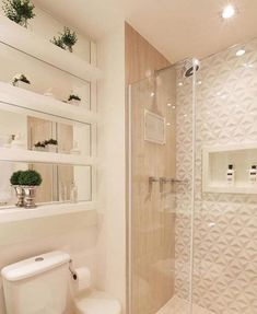 Re-organize your towels and toiletries during your next round of spring cleaning. Check out some of the best small bathroom storage ideas for Bathroom Layout, Bathroom Interior, Bathroom Storage, Small Bathroom, White Bathroom, Pastel Bathroom, Bathroom Ideas, Dream Bathrooms, Bathroom Wall