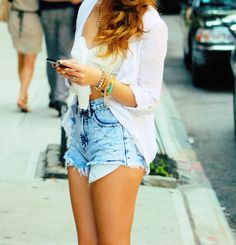 Cute Summer Outfits Tumblr Shorts 2014-2015 | Fashion Trends 2014-2015