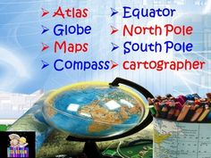 MAPS and GLOBES- Interactive PowerPoint presentation