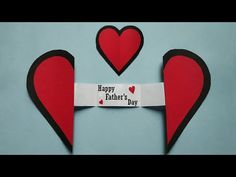Easy Greeting Card : Fathers Day Gift ideas 2020 in lockdown | Paper Craft Heart Father's Day Gifts - YouTube Fathers Day Crafts, Gifts For Father, Happy Fathers Day, Father's Day Greeting Cards, Happy Birthday Greeting Card, Easy Gifts, Paper Crafts, Gift Ideas, Make It Yourself