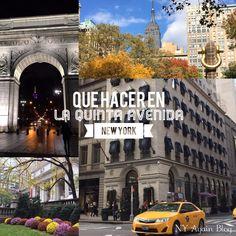 Qué hacer en la Quinta Avenida de Nueva York. Un paseo a lo largo de toda la extensión de la Avenida más famosa de la Gran Manzana.