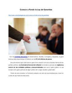 Conoce a Fondo la Ley de Garantías http://www.colombialegalcorp.com/conoce-a-fondo-la-ley-de-garantias/ Con las próximas e...
