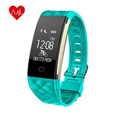 Heart Rate Activity Fitness Tracker - Wireless Bluetooth Waterproof Sports Wristband Pedometer Sleep Monitor/Call Reminder/Calorie Counter/Remote Camera for Android iOS Smartphone(Green) Fitness Equipment, No Equipment Workout, Remote Camera, Calorie Counter, Barre Workout, Heart Rate, Fitness Tracker, Monitor, Bluetooth