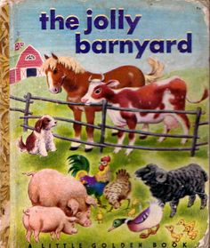 The Jolly Barnyard, Illustrations by Tibor Gergely, 1950