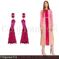 Pendientes Lara fucsias ★ 14'95 € ★ Cómpralos en https://www.conjuntados.com/es/pendientes-lara-con-cristal-y-borla-fucsia.html ★ #pendientes #earrings #conjuntados #conjuntada #joyitas #lowcost #jewelry #bisutería #bijoux #accesorios #complementos #moda #eventos #bodas #invitadaperfecta #perfectguest #fashion #fashionadicct #fashionblogger #blogger #picoftheday #outfit #estilo #style #streetstyle #spain #GustosParaTodas #ParaTodosLosGustos