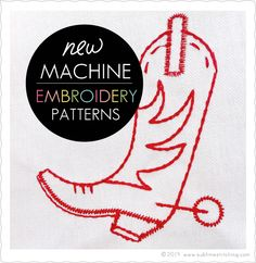 Premiere release of classic Sublime Stitching patterns for machine embroidery!