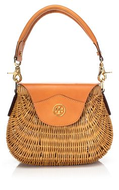 Shop Tory Burch Rattan Basket at Moda Operandi