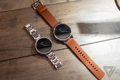 Motorola's new Moto 360 watches are sleeker, smarter, and more customizable than ever