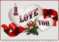 I Love You Valentine Clipart