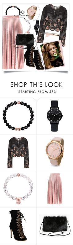 """Autumn Style with Christian Paul Watches"" by judysingley-polyvore ❤ liked on Polyvore featuring Alessandra Rich, Topshop, Torrid, Beautycounter and christianpaul"