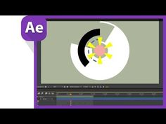 After effect motion graphics for sweeping circles like AE sweets - YouTube