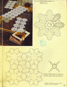 "Photo from album ""ааа Рукоделие"" on Yandex. Crochet Granny, Crochet Motif, Irish Crochet, Crochet Doilies, Crochet Patterns, Crochet Ideas, Yandex, Hand Stitching, Album"