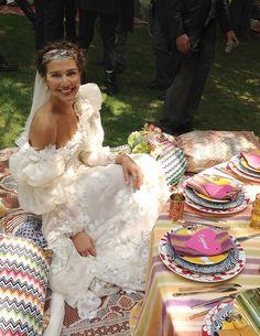 Margherita Missoni's Wedding Day - Town & Country Magazine