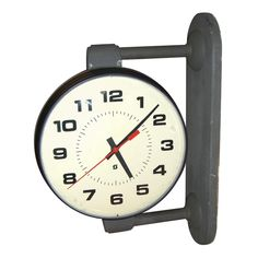 Big & bold 1940's double sided school house clock. Would look so great on my wall..or yours! http://www.1stdibs.com/furniture_search.php?FRID=aWqUaWZplJKY