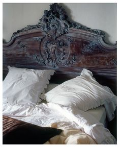 French Country Headboard - well, if it is French Country, I guess we have to have one, huh.