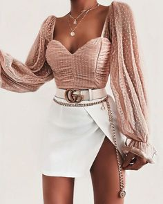 Oufit outfitideas outfitinspo outfitinspiration outfitdetails source by minchevamira fancy outfits 35 fabulous fall women outfits ideas to wear at school Teen Fashion Outfits, Mode Outfits, Girly Outfits, Cute Casual Outfits, Look Fashion, Pretty Outfits, Stylish Outfits, Dress Outfits, Womens Fashion
