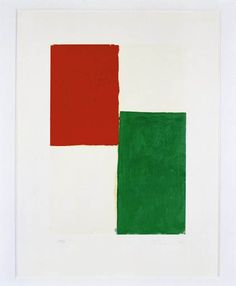 "Blinky Palermo, untitled, from ""Hommage a Picasso"", 1974, Deutsche Bank Collection, © VG Bild-Kunst, Bonn 2009"
