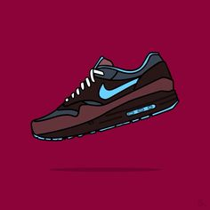 on sale 0b94c 29e57 Nike Air Max 1 Illustration by Sander Smit  nike  airmax  illustration Air  Max