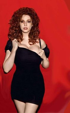 Christina Hendricks Reveals 10 is listed (or ranked) 6 on the list 38 Sexiest Christina Hendricks Pictures