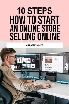 Learn how to set up a Shopify store in 10 easy steps. By the end of this step by step tutorial, you would have learned how to start Shopify store step by step from the ground up today. Read more inside. #shopify #shopifyforbeginners #shopifytips #shopifystore #onlinestore