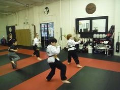 Kids Kung Fu Sash Test Jan 2016