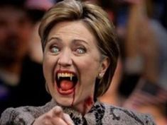 Wingnuts Just Asking: Is Hillary Clinton A Violent Spouse Abuser? And A Lizard Person? (Don't Americans deserve the truth? Or at least the 'truth'? Obama Clinton, Crooked Hillary, Internet News, Ugly Faces, The Exorcist, Alex Jones, Running For President, Lady And Gentlemen
