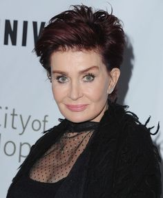 Sharon Osbourne glows as she goes make-up free for a day out with ...