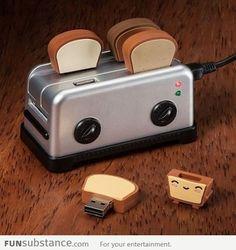 Toast Flash Drives