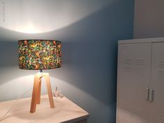 Lampe trépied JUNGLE