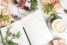Preparation for Christmas by Rimma on @creativemarket