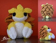 My first try sandslash, self made up pattern. I love the outcome! It's about 12x10 cm I hope the pattern is readable since it's the first one I wrote for others to use. I would love to see all of y...