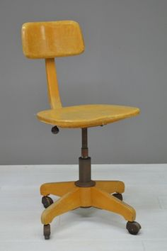Industriële bureaustoel / Industrial desk chair 20796