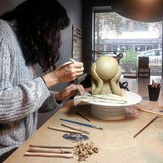 #seramik #ceramics #ceramique #keramik #도자기 Atelier