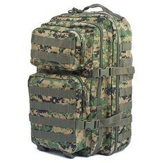 Mil-Tec Military Army Patrol Molle Assault Pack Tactical Combat Rucksa