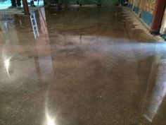 Polished Concrete Floor Oxfordshire