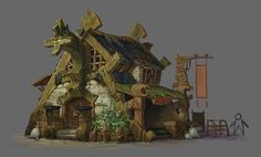 ArtStation - funny houses, xin xia  Be the reason our environment improves for decades to come at http://www.fuzeus.com