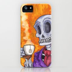 Tea+Time!+iPhone+&+iPod+Case+by+Beneath+The+Floorboards+-+$35.00