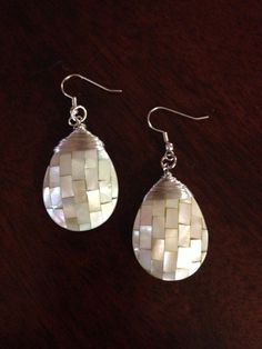 Etsy listing at https://www.etsy.com/listing/202472979/mother-of-pearl-wire-wrapped-teardrop