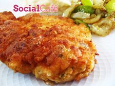 Chicken Schnitzel - I loved the schnitzel I had once in Germany and would absolutely love love love to make this.