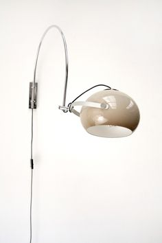 Anonymous; Metal and Perspex Wall Light by Dijkstra, c1970.