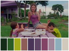 """Color palette from """"The Florida Project"""" – Movie Posters Movie Color Palette, Colour Pallette, Star Lord, Guardians Of The Galaxy, Color In Film, What's My Favorite Color, Cinema Colours, Color Script, Comedy"""